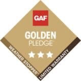 GAF Golden Pledge logo