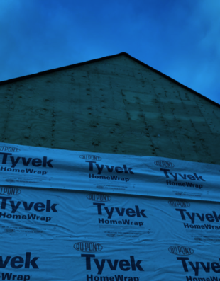 Siding Tyvek Home Wrap